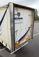 Scania testing boat-tail which can cut fuel consumption
