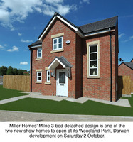 Double show home opening at Woodland Park, Darwen