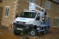 Iveco Daily 4x4 climbs to new heights with Cumberland