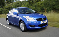 Suzuki Swift wins its class in MPG Marathon