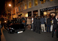 Maserati on the catwalk in London and Paris