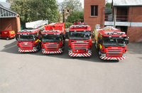 Northamptonshire's new Scania fire appliances