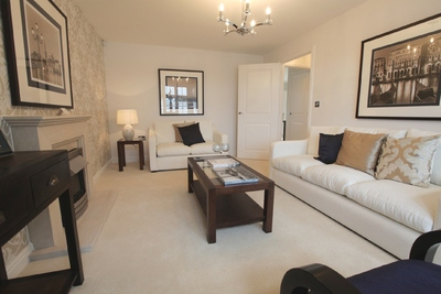 The Stylish Interiors Of The New Show Homes At Willowbrook.