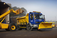 Tayside gears up for winter with new DAF gritters