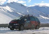 Ski & snowboarding specials with Wicked Campers
