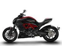 Spectacular Ducati Diavel and new Monster 1100EVO