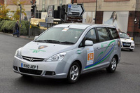 Proton Exora hybrid bags award at Brighton-to-London rally