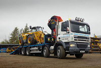 Four axle DAF offers flexibility to plant hire firm