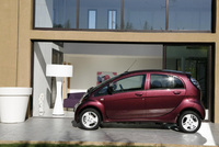 i-MiEV helps promote electric vehicle charging network
