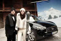 Infiniti and Volant inspire performance on the slopes