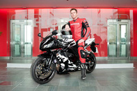 Strictly Come Dancing star chooses Honda CBR