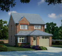 CGI of Redrow's New Heritage Collection homes.