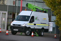 PJ Hire trials its greenest mobile access platform to-date