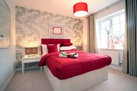 A typical stylish Taylor Wimpey interior.