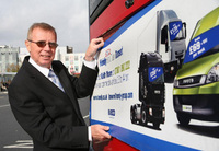 Van dealer's campaign targets captive audience