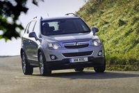 Vauxhall Antara grips 4x4 market with rugged new look