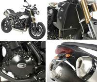 R&G Racing works at speed for new Triumph triple