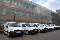 Carillion Fleet Management delivers 135 vans to Monteray