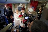 SAS hosts same-sex weddings in the air