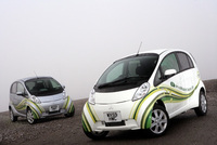i-MiEV completes UK's largest public electric vehicle trial