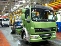 DAF LF Hybrid enters production