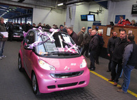 BCA sell limited edition Pink Passion smart for charity