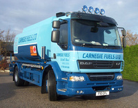 Carnegie Fuels take first DAF into tanker fleet