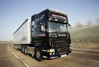 Wright Self Drive takes delivery of Scania R 730