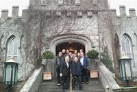 Bad weather sends U2 to their favourite castle hotel