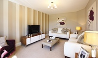 The stylish interiors of The Lincoln show home.
