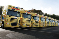 McBurney renews with Scania R 480s and flagship R 730