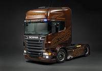 Black Amber - the latest limited edition truck from Scania