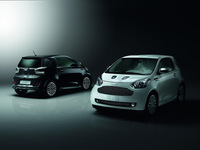 Aston Martin Cygnet White and Black editions