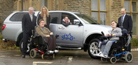 Mitsubishi donates L200 Barbarian to National Star College Charity