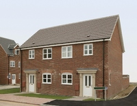 The 2 bed semi-detached Cartmel