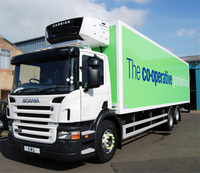 The Co-operative Food Supply Chain opts for Scania