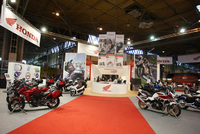 Honda and George White are Motorcycle Live favourites