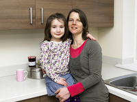 Fleet development provides perfect home for mother and daughter