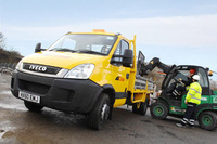 7 tonne Iveco EcoDailys tip the balance for Colas
