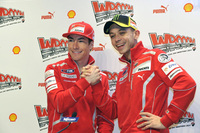 Ducati plan public send-off for Rossi and Hayden