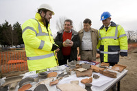 Archaeological dig undertaken in Beck Row