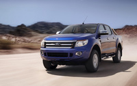Ford Ranger on display at CV show