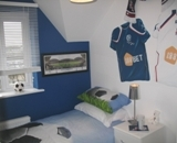 Bolton Wanderers themed bedroom is in another league