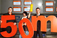 easyJet celebrates 50 million passengers