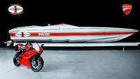 42X Ducati Edition racing boat