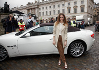Maserati 'strikes a pose' at London Fashion Week