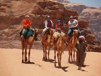 Family adventure under the stars of Jordan