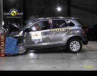 Mitsubishi ASX receives 5-star Euro NCAP rating