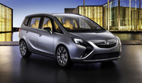 New Zafira Concept makes world premiere at Geneva show