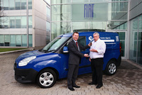 Fiat sponsors children's charity with Doblo van gift